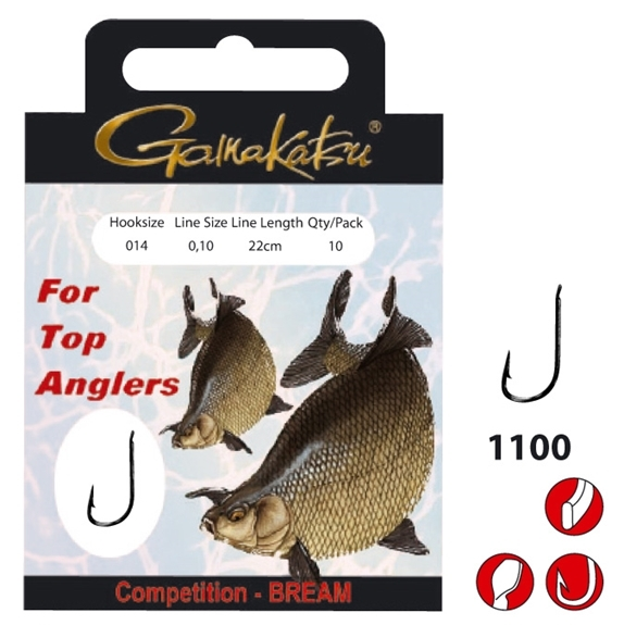 gamakatsu competition bream LS -1100 #12