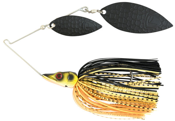 Fox Rage Spinnerbait Black/Gold 14 gram