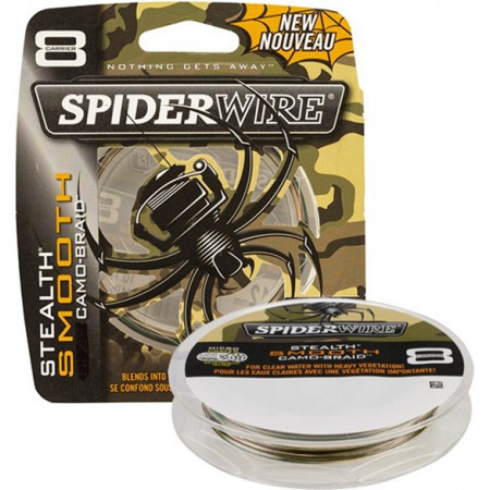 Spiderwire Stealth Smooth 8 Camo 0,25 mm