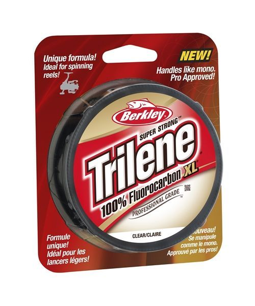 BERKLEY TRILENE 100% FLUOROCARBON XL 0,28 mm