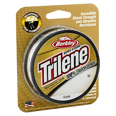 BERKLEY TRILENE 100% FLUOROCARBON 0,28 mm