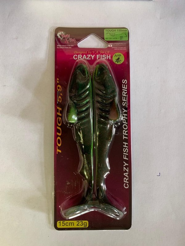 crazy fish tough 150 mm kleur 14cb