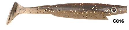 Strike Pro piglet shad kleur C016 gold flash