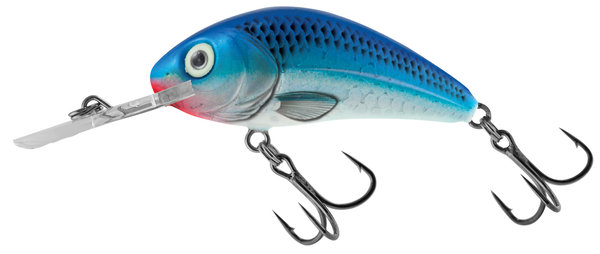 salmo hornet rattlin' floating 3,5 cm Holographic Blue Sky