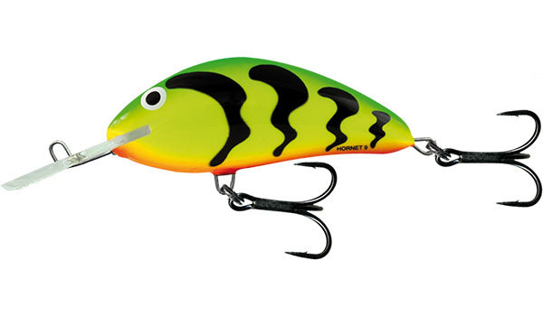 Salmo hornet floating 9 cm Green Tiger