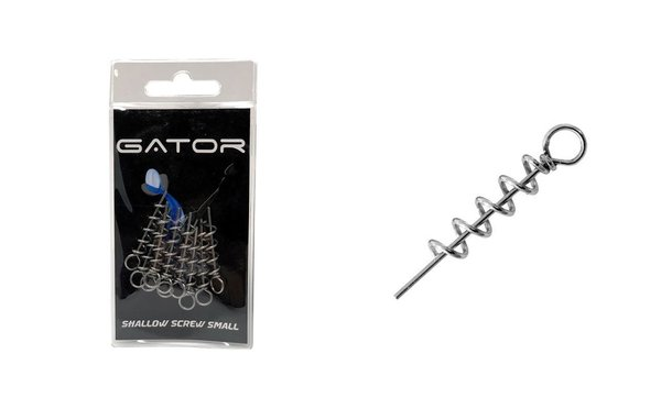 Patriot Gator Small Shallow screw 10 stuks