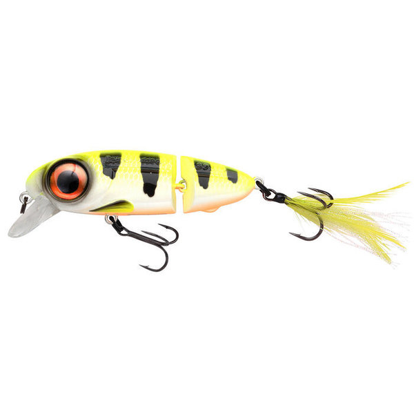 Spro IRIS Underdog Jointed 80 Hot Perch