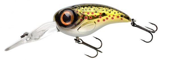 Spro fat iris DR 4 cm 6,2 gram brown trout